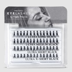 Fake individual eyelashes with knott, thickness 20 hairs, MIX Lovenue by Magda Pieczonka (mix)