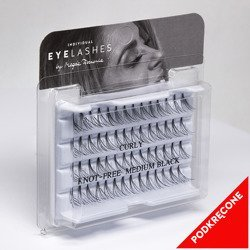 Fake individual eyelashes without knott, thickness 20 hairs, MIX Lovenue by Magda Pieczonka (mix)
