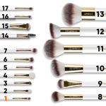 Full set of brushes by Magda Pieczonka